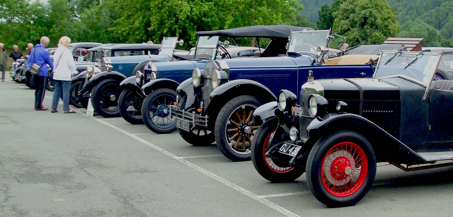 Vintage Car Rally North Wales