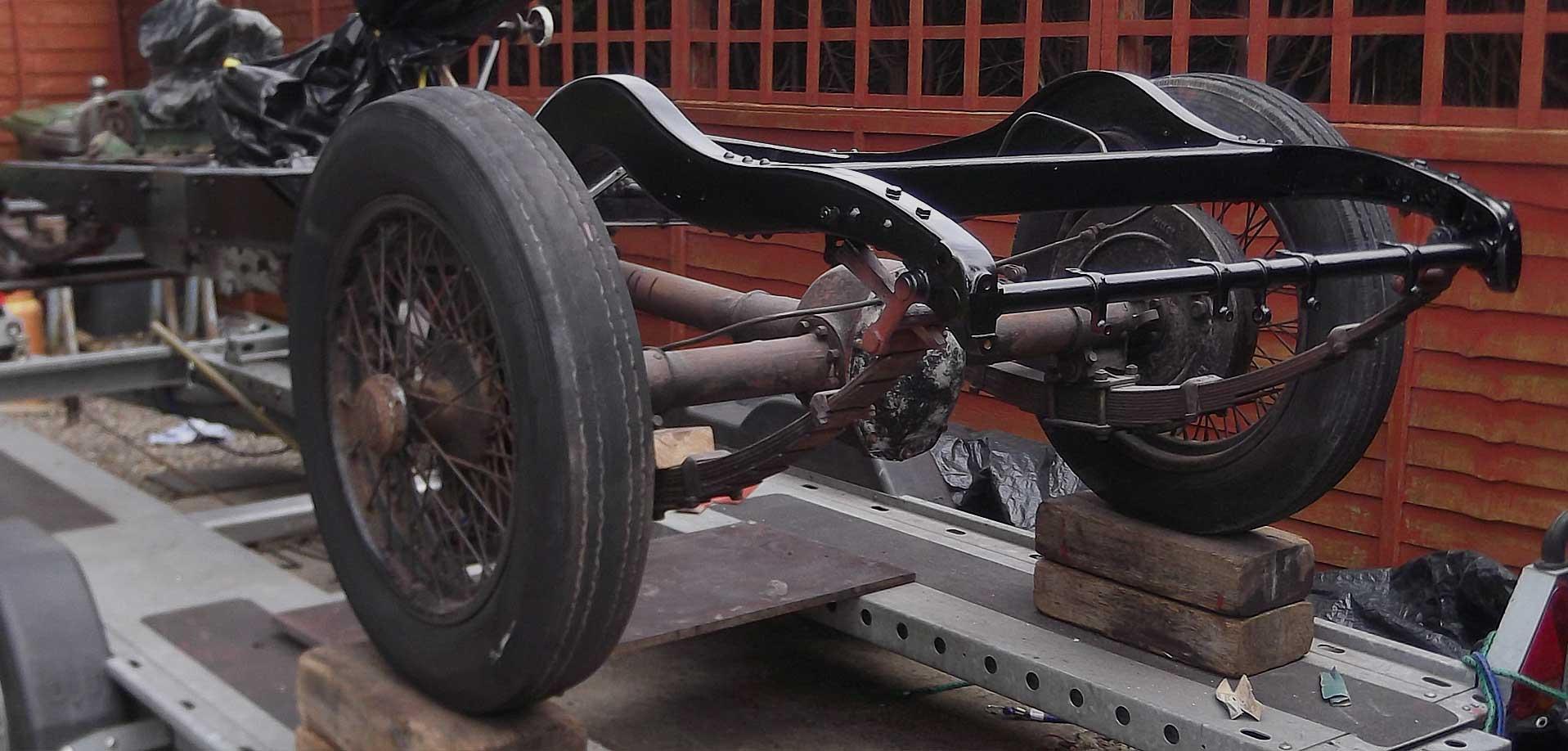 Classic Car restoration Gwynedd and Anglesey